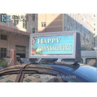 Customized Size Meanwell Car Led Sign Display Waterproof 160x160mm Manufactures