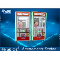 Crazy Crane Game Machine Coin Operated Scissors with LCD monitor Manufactures