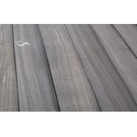 Macassar Ebony Quarter Cut Veneer , Black With White Lines Manufactures