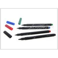 Environmental Friendly Fiber Tip Wet Erase Marker For PCB Plastic Board Manufactures