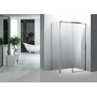 Glass Sliding Shower Enclosure , Waterproof Fiberglass Corner Shower Stalls 900 X 1400 Manufactures