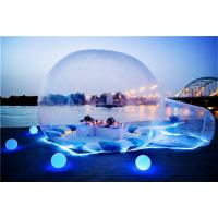 Transparent Inflatable Tent / Outdoor Romantic Inflatable Bubble House Manufactures