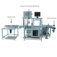 Automatic Fiber Metal Laser Marking Machine for Bearings Marking , Integrate Double Air Cylinder' Manufactures