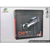 Earphone Cardboard Packing Boxes Full Color Printed With Magnetic Folding Lid Manufactures