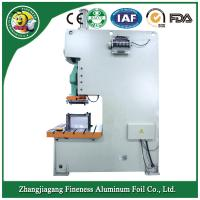 China aluminum foil container forfood use making machine AF- 63t Manufactures