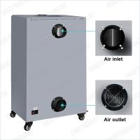 8 Layers High Efficiency Laser Engraver Fume Extractor , Laser Fume Extraction System Manufactures