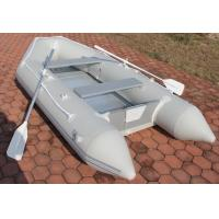 Professional Grey Portable Inflatable Boat Inflatable Sailing Dinghy Manufactures