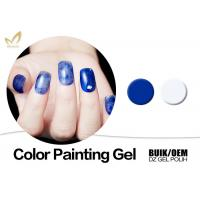 Durable Nail Art Gel Paint , Harmony Color Uv Painting Gel European Standard Manufactures