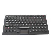 89 Keys IP65 Dynamic Sealed Backlight illuminated Keyboard With Touchpad Manufactures