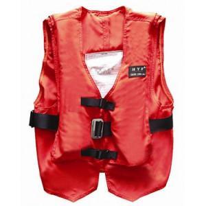 Lightweight Solas Life Jacket Vest , Life Preserver Vest Orange Color Manufactures