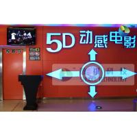 Amazing 5D Theater System With Motion Theater Chair And 3D Glasses Manufactures