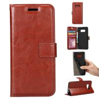 PU Leather Samsung S8 Plus Wallet Case ,  Precise Vintage Wallet Case Heavy Duty Manufactures