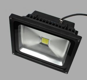 30W Color Changing Outdoor LED Flood Light black housing black LED Flood light 30W Manufactures