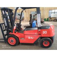 3 Ton Diesel Counterbalance Forklift Container Lifting Mast Energy Saving Manufactures