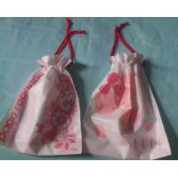 Promotional Swimwear Drawstring Plastic Bags With Double Ropes Manufactures