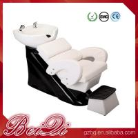 Hair shampoo station wholesale salon furniture luxury massage shampoo chair wash unit Manufactures
