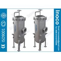 BOCIN Industrial Water Multi-bag Filter Housing Stainless Steel with 5um Micron Rating Manufactures