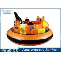 Quality Anti - Collision Playground Equipment Kids Bumper Car Red / Yellow for sale
