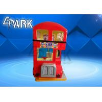 Classical High Range Coin Operated London Bus Swing Rocking Kiddie Ride Game Machine Manufactures