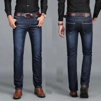 Stable Quality Latest Straight Design Men Business Jeans Casual Fashion Denim Jeans Manufactures