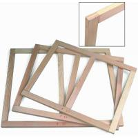 Different Thickness Pine Wooden Stretcher Bars 2 Pcs Shrink Wrapped Manufactures