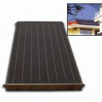 Solar Water Heating System with 0.14 x 140 x 1,895mm Copper Fins Manufactures