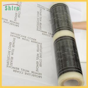 Disposable Carpet Protection Film / Car Mat Protection Film Transparent Color Manufactures