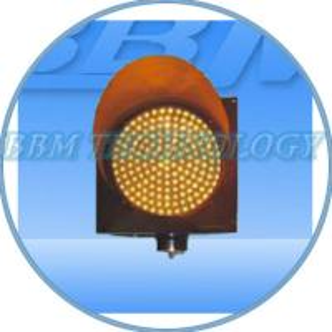 LED yellow flashing traffic signal lights