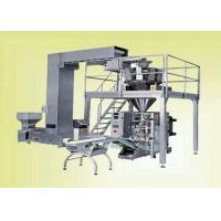 Quality Continuous Pouch Filling And Sealing Machine For Food / Snack , VFFS Packing for sale