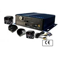 Multi-function Vehicle Security Camera system SD Card Mobile DVR 4CH H.264 Manufactures