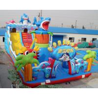 Buy cheap New arrival Commercial rental octopus design inflatable bouncer slide for sale from wholesalers