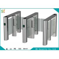 Fingerprint High Speed Swing Barrier Gate Club Hotel Management Passages Manufactures