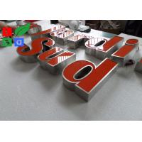 Quality IP65 Waterproof LED Channel Letters , Neuture White 6500K Backlit Sign Letters for sale