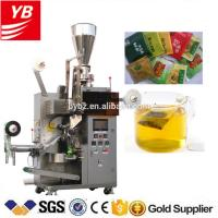 YB-180C automatic green tea bag with thread and tag packing machine 5g 10g Manufactures