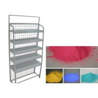 Decorative Diaplay Rack Powder Coating , Epoxy Polyester Resin Silver Powder Coat Manufactures