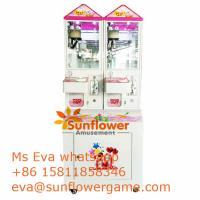 Sunflower Amusement Best China Plush Toy Crane Machine Supplier Mini  Crane Machine for sale Manufactures