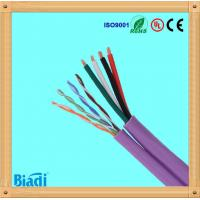 cat5e siamese cable utp with power cable for cctv Manufactures