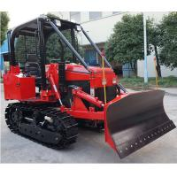 China 35hp multi-functional mini crawler bulldozer EPA diesel engine crawler dozer/tractor with front loader/backhoe on sale