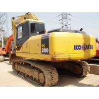 0.8 Cbm Bucket Capacity Second Hand Excavators KOMATSU PC200 3200h Hours Manufactures