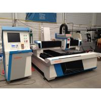Quality Electrical cabinet Stainless steel laser cutting machine with laser power 800W for sale