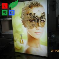 Picture Light Box Frame Custom 28Mm Thin LED Light Display Box Manufactures