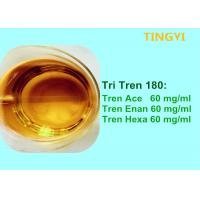 China Semi - Finished Injectable Anabolic Steroids Oils Tri Tren 180 For Fast Muscle Growth on sale