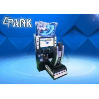 "Indoor Initial D8 Arcade Game Coin Operated Car Racing Game Machine With 32"" LCD Manufactures"