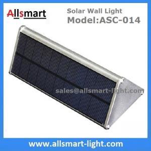 Quality 1000LM Radar Sensor 48LED Solar Wall Light Wireless Security Garden Wall Mounted Yard Lamp for sale