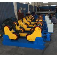 Two Years Warranty Small Welding Rotator for Pipes , Tanks , Vessels, tubes production Manufactures
