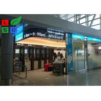 Quality 7.62 Pixel Soft Design Programmable LED Flexible Message Scrolling Signage Board for sale