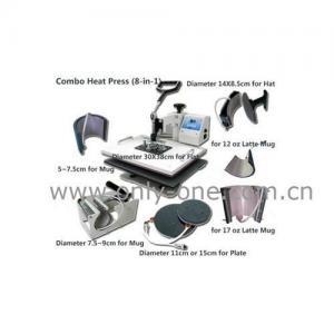 8 in 1 Combo Heat Transfer/Press Machine