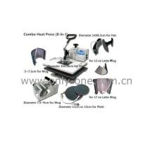 Quality 8 in 1 Combo Heat Transfer/Press Machine for sale