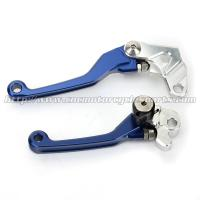YZ 125 250 Motorcycle Brake Clutch Lever Yamaha Dirt Bike Parts CNC Anodized Blue Manufactures