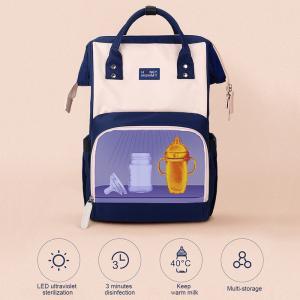 Large Capacity Nursing Bottle UV Disinfection Diaper Bag Manufactures